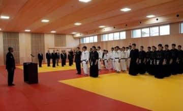 熊本県警察学校の新武道場が完成 熊本地震被害で建て替え