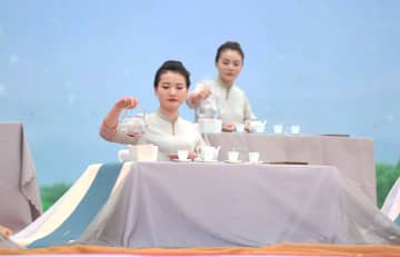 「中国白茶の里」で第9回白茶開茶節開催 福建省福鼎市