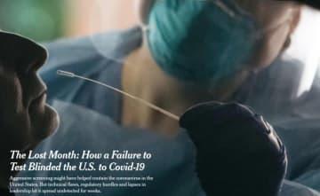 検査の遅れ米政府疫病予防の失敗を招いた=米メディア