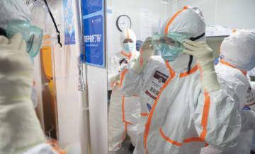 第4次国家中医医療チームが最後の勤務 武漢雷神山医院