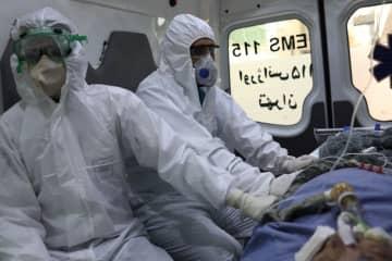 イラン、新型コロナ死者2900人に迫る 感染者は約4.5万人