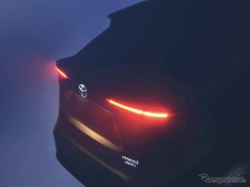 トヨタBセグメントSUV ティザーイメージ