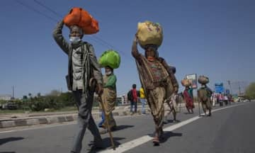 India lockdown triggers migrant worker exodus, fear of viral spread