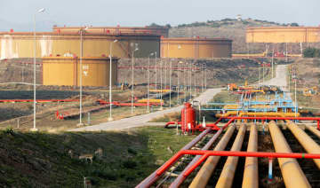 A general view of oil tanks at Turkey's Mediterranean port of Ceyhan, which is run by state-owned Petroleum Pipeline Corporation (BOTAS), near Adana, Turkey, February 19, 2014. (REUTERS)