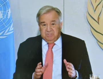 国連グテレス総長、結束訴え 「創設以来、最大の試練」 画像