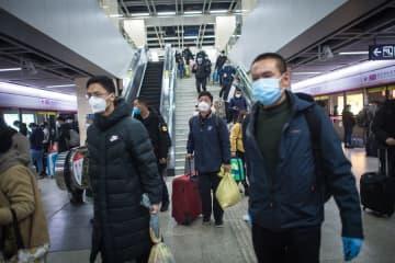 湖北省武漢市で地下鉄と鉄道が再開