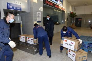 黒竜江省、ロシアのクラスノヤルスク地方に医療物資を寄贈