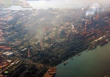 日本製鉄君津製鉄所(「Wikipedia」より)