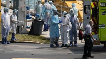 US coronavirus death toll surpasses China's