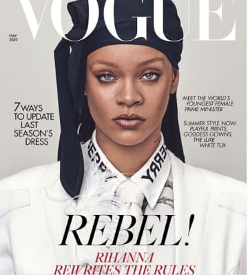 Rihanna reveals new plans as she covers British Vogue
