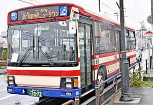 郡山7路線「路線バス」運行再開 福島交通、台風影響長期運休