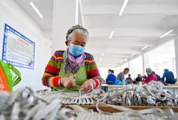 「貧困者支援作業場」が操業再開 内モンゴル自治区