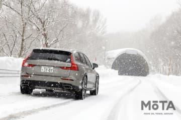 ボルボ V60 Cross Country(クロスカントリー) T5 AWD 雪上試乗|厳冬の北欧で育まれたAWDを北海道で試す