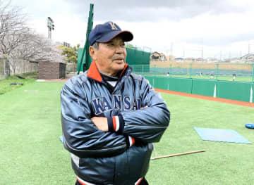 母校・関大野球部でアドバイザリースタッフを務める山口高志氏