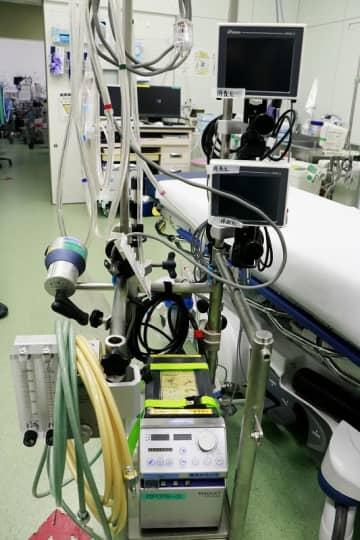 重症の肺炎患者の治療に使われるECMO(エクモ)