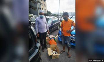 Warga prihatin bantu 100 pekerja asing di Ampang