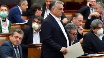 新型ウイルスに乗じた権限拡大に「深い懸念」 EU13カ国が共同声明