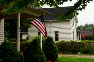 Residents of Chatham Township and Chatham Borough are being encouraged to display American flags outside their homes. (Jacob Hamilton/)