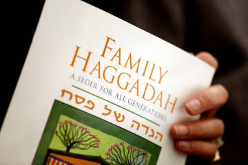 The Haggadah is the service book that tells the Passover story of the liberation of Israelites from slavery in ancient Egypt.  (Lisa DeJong Lisa DeJong/)