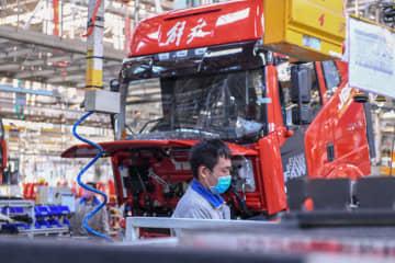 一汽解放、3月の中・大型トラック販売台数20%増 単月で過去最高