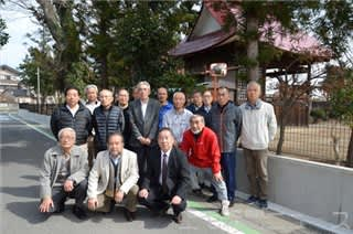 通学路の老朽ブロック塀 寄付金募り改修 前橋・笂井町自治会