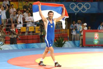 オリンピックに4度出場し、3度優勝のブバイサ・サイキエフ(ロシア)=2008年北京オリンピック