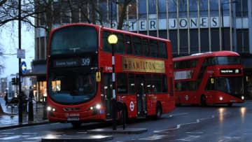 ロンドン・バスの運転手ら5人、新型ウイルス感染で死亡