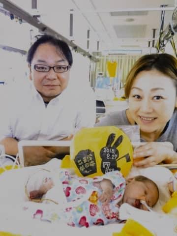 """誕生直後に生存率30%の""""余命宣告""""…325gの娘が生きた9カ月"""