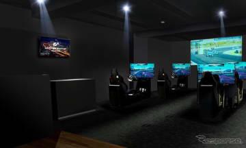 e-モータースポーツ スタジオ(イメージ)