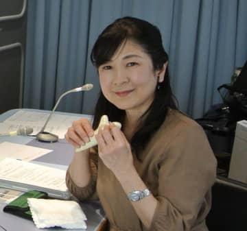 オカリナ奏者の鈴江先子さん(写真:ラジオ関西『原田伸郎のびのび金ようび』)