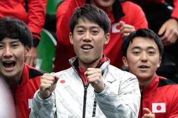 「デビスカップ」予選ラウンド・日本対エクアドルでの錦織圭
