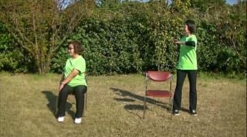 簡単にできる筋力トレーニングの紹介動画(横須賀市提供)