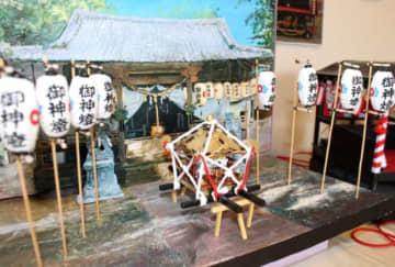 「清正公祭」をジオラマに 大分市の小野宏美さん製作【大分県】