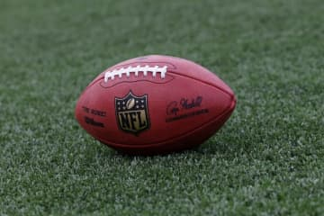 NFLのフットボール【Aaron M. Sprecher via AP】