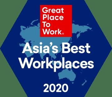 2020年版 アジア地域における「働きがいのある会社」ランキング発表!