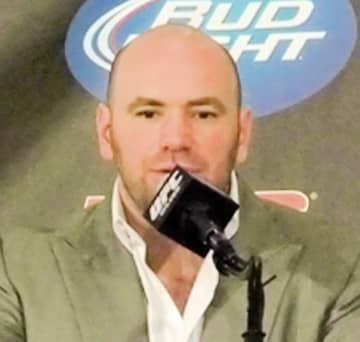 UFCのダナ・ホワイト代表