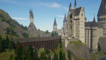 『マインクラフト』で「ハリー・ポッター」を再現するRPGマップ完成版が配布! 圧倒的スケールと再現度を誇る傑作