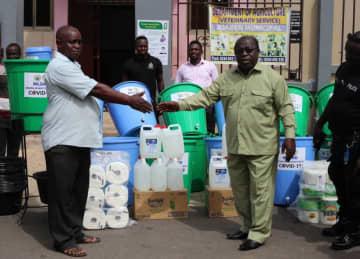 Juaben Municipal Assembly Donates Relief Items