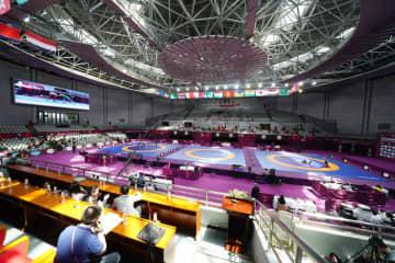 当初の予定通り、決戦の地となるか、中国・西安=昨年のアジア選手権(撮影・保高幸子)