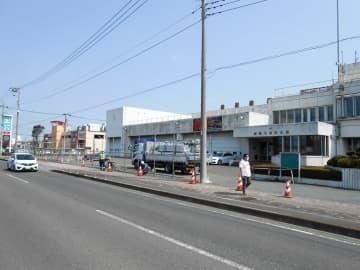 綾瀬市が商業施設を誘致する方針を決めた市消防本部の跡地=同市深谷中1丁目