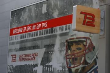 トム・ブレイディが手掛けるブランド『TB12』【Aaron M. Sprecher via AP】