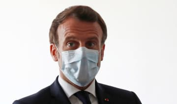 French President Emmanuel Macron. (Supplied)