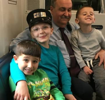 Joe Hansen, an NJ Transit train conductor, died from complications related to COVID-19. (NJ Transit/)
