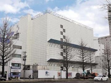 解体工事が進む仙台中央ビル。高機能オフィスを備えた新ビルに生まれ変わる
