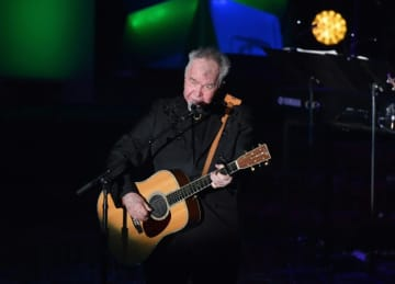 John Prine performs onstage during the 2019 Songwriters Hall Of Fame Gala, where he was among those inducted.