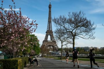 The French central bank said that in the last two weeks of March, as the coronavirus crisis deepened, economic activity plunged 32%.