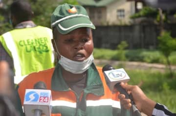 LAWMA rewards outstanding sweeper – P.M. News