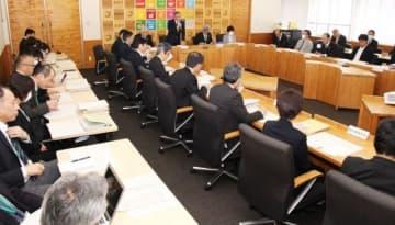 総合相談室の設置などを決めた真庭市の対策本部会議