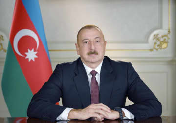 Azerbaijani president expresses condolences to president of Ukraine