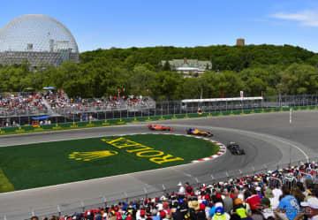 2019年F1カナダGPの模様。